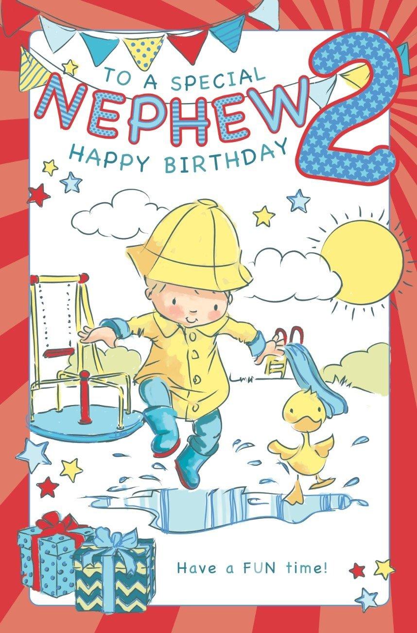 Prime Nephew Age 2 Birthday Card Crediton Card Centre Personalised Birthday Cards Veneteletsinfo