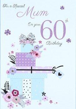Mum 60th birthday card crediton card centre mum 60th birthday card bookmarktalkfo Image collections