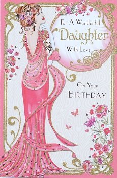 Daughter Birthday Card Crediton Centre