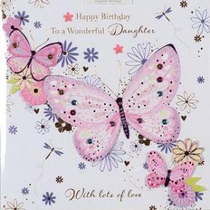 Daughter Birthday Card 500